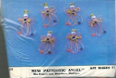 Small Angel Bead Kit 2.5 inches tall Ornament Bead Kit Custom Design NEW