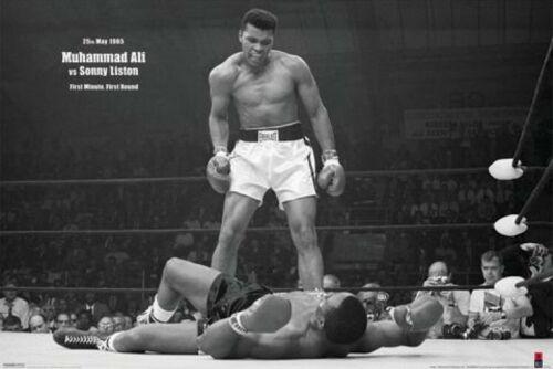 Vs Sonny Liston Poster Affiche 91x61cm #39065 Muhammad Ali
