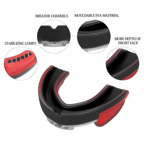 Sanda MMA Boxing Basketball Teeth Protective Gear Adult Sport Braces Mouth Guard