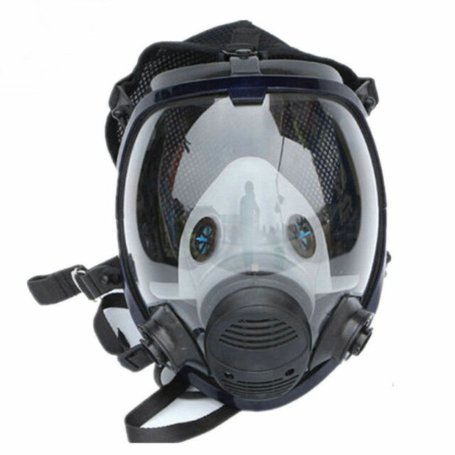 For 3M 6800 Gas Face Mask Full Face Respirator For Smoke Wide Painting Spraying