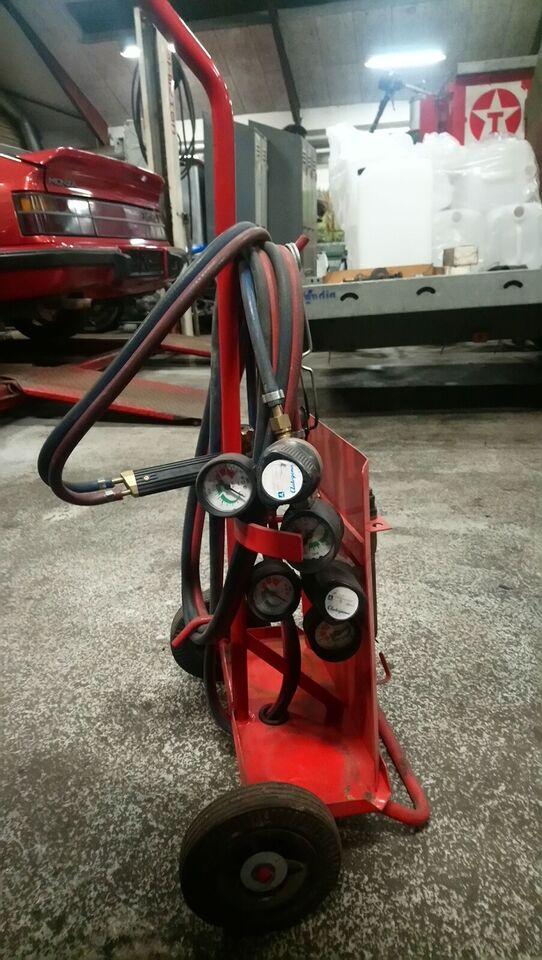 Skærebrænder Gas & ilt., Autogena