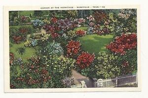 Image Is Loading NASHVILLE TN General Andrew Jackson Hermitage Garden PC