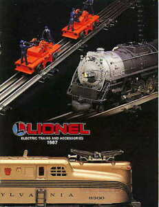 1987 LIONEL TOY TRAINS CONSUMER CATALOG -MINT