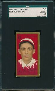 1911 T205 Michael Mitchell Sweet Caporal SGC 55 VG-EX+ 4.5 Not PSA