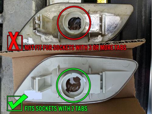 DEPO Side Marker Lights Crystal Clear For 2002-2003 Subaru Impreza RS TS WRX