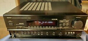 Denon-AVR-2600-5-Channel-100-Watt-Receiver-Home-Theater-Stereo-Tested