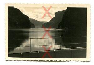 SOGNEFJORD-Balholm-orig-Foto-1938-Kreuzer-Emden-Norwegen-Norway