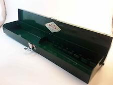 Empty Vintage Metal Case S K Tools Box 38 Socket Ratchet Breaker