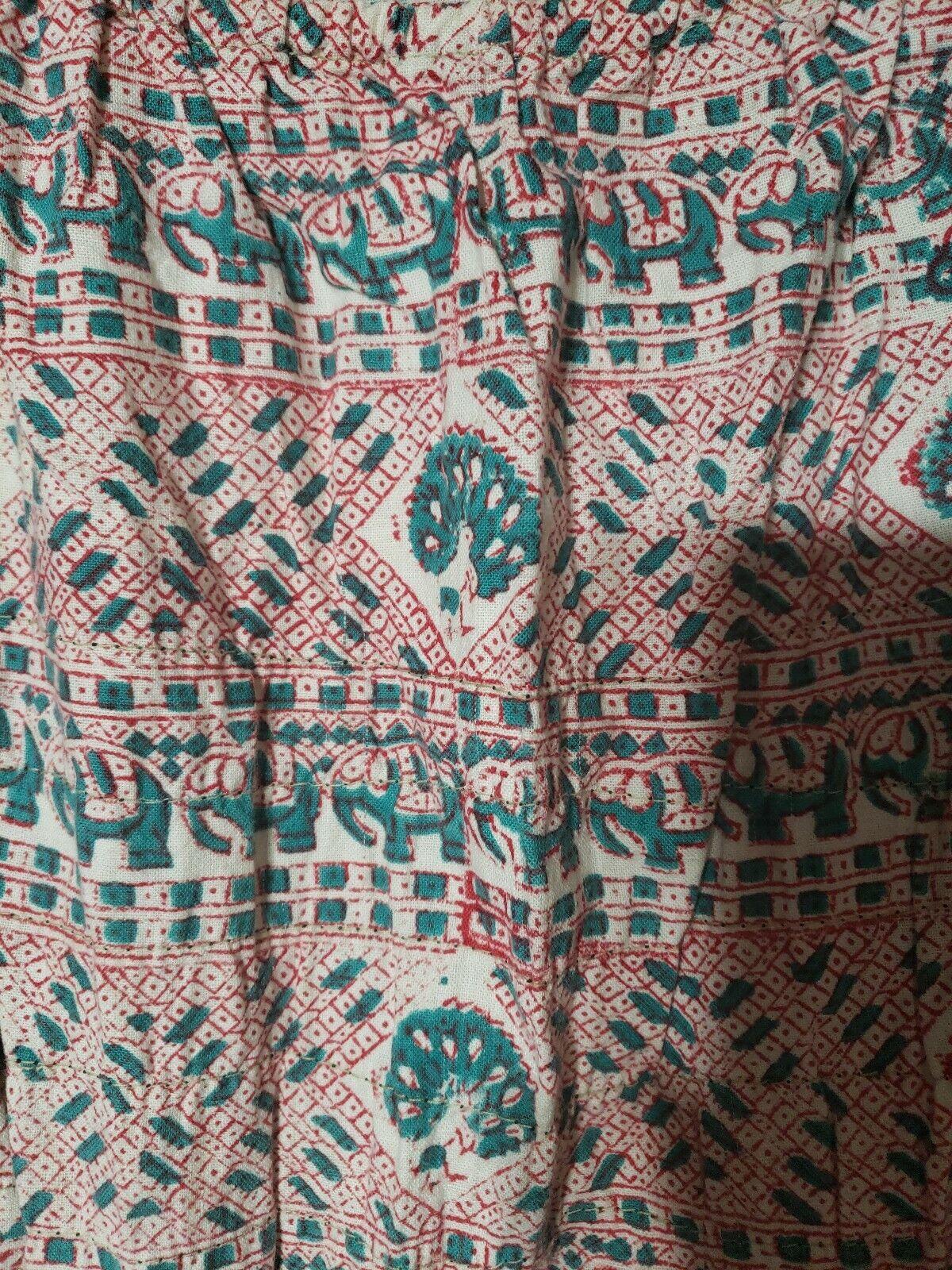 VINTAGE INDIA IMPORTS RHODE ISLAND 60S MAXI CAFTA… - image 4