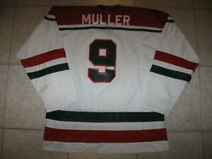 check out 2b9ac b0dca Details about VINTAGE #9 Kirk MULLER New Jersey DEVILS Replica Jersey, Size  Men's L