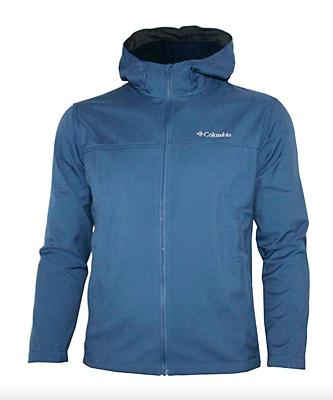Columbia Mens Bay Ridge EXS Hooded Full Zip Soft Shell Jacket
