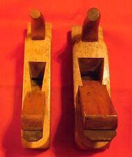 2 x Antike Hobel aus Holz , 24cm x 6 cm + 24 cm x 5 cm , Alt unnd Gut ,
