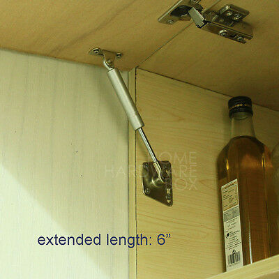 kitchen cabinet door lift pneumatic support hydraulic gas spring stay 6""