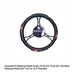 ba280440ee5 Northwest NFL San Francisco 49ers Car Truck Suv Van Boat Steering ...