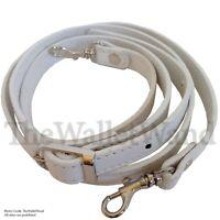 5/8 White Replacement Purse Strap Adjustable Cross Body Shoulder Handbag Wallet
