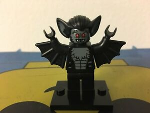LEGO 8833 Mini Figures Series 8 Vampire Bat Mini Figure // Minifig