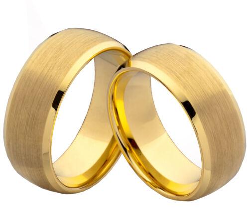 compromiso alianzas anillos pareja de volframio grabado láser w773 Los anillos de boda de amistad