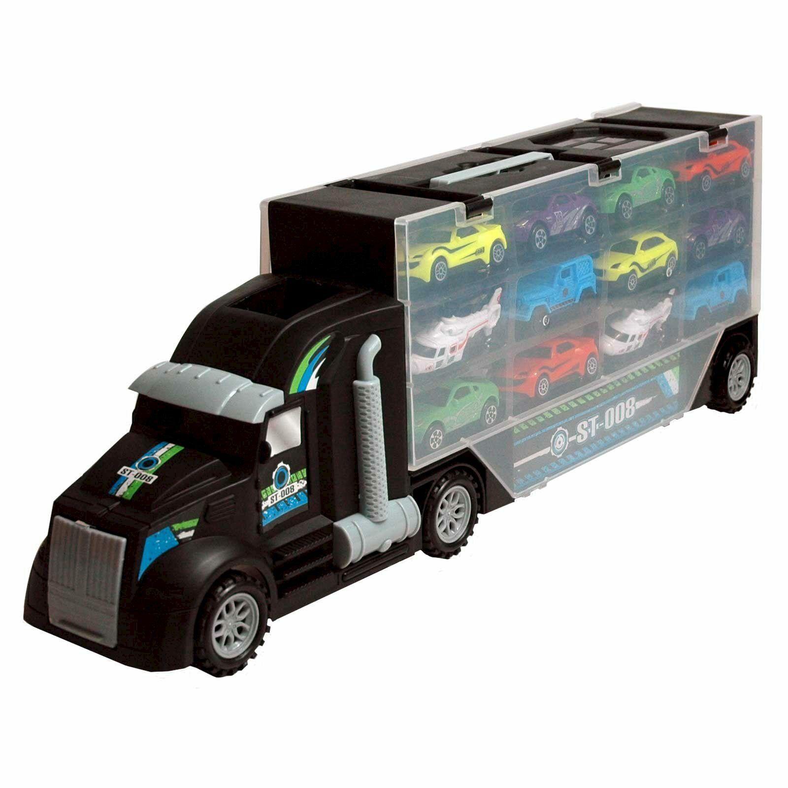Camión con Coches de Juguete,Juguete Camión,P858-a