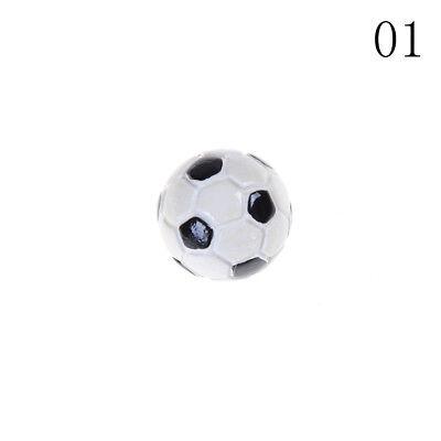 1:12 Dollhouse Miniature Sports Balls Soccer Football and Basketball Decor LE