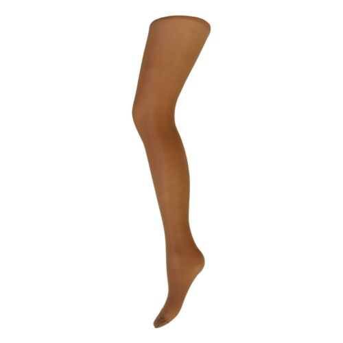 Womens Ladies 3 Pairs 15 Denier Cindy Sheer Tights MED LRG XL AMERICAN TAN