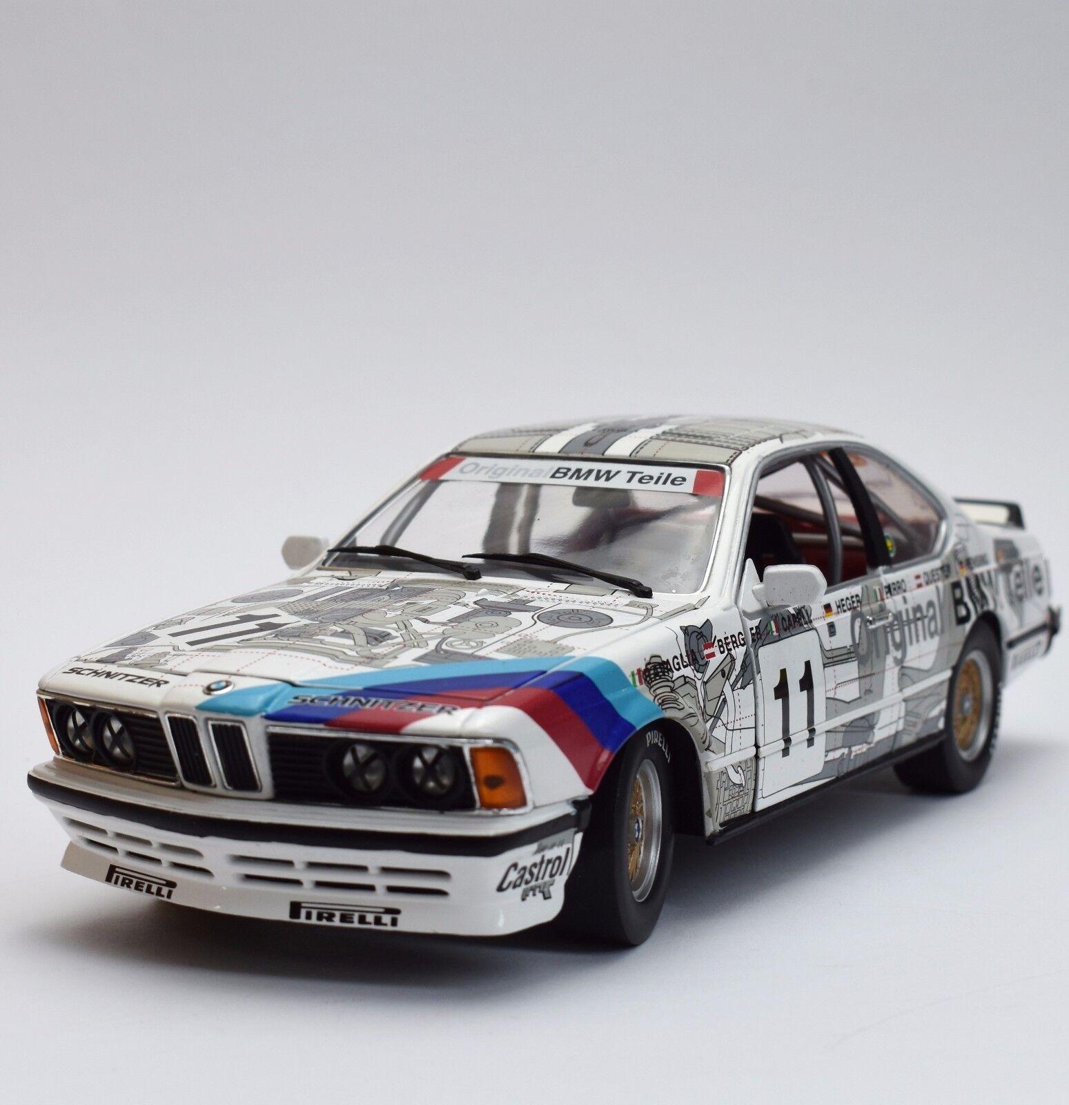 Anson rareza bmw 635 CSI Sport Coupe original bmw piezas, OVP, 1 18, k018