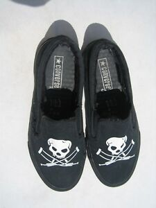 4ab2ac96a4478c RARE MTV JACKASS CONVERSE MENS SIZE 6 WOMANS 8 SKULL CRUTCHES JOHNNY ...