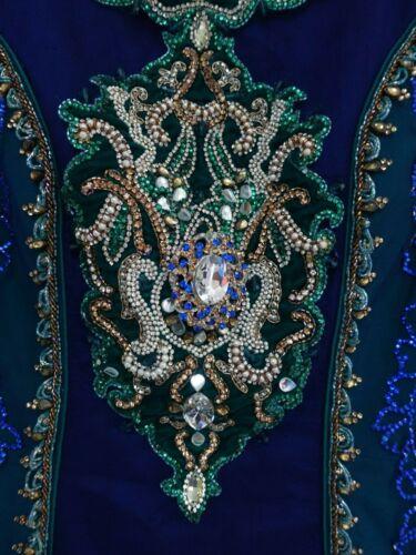 Churidaar scuro Sku15335 Eu 10 blu Abito e taglia 36 Pyjami verde vqgw1pX