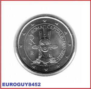ITALIE - 2 € COM. 2021 UNC - ROME HOOFDSTAD VAN ITALIE