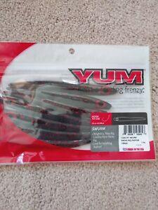 Yum-SWURM-Soft-Jerkbait-4-75-034-7-per-Bag-YSR420-RED-PEPPER