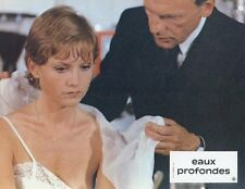 ISABELLE HUPPERT JEAN-LOUIS TRINTIGNANT EAUX PROFONDES 1981 PHOTO EXPLOITATION 3
