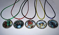 5 Lego Chima Necklace With Matching Color Cords Birthday Party Favors