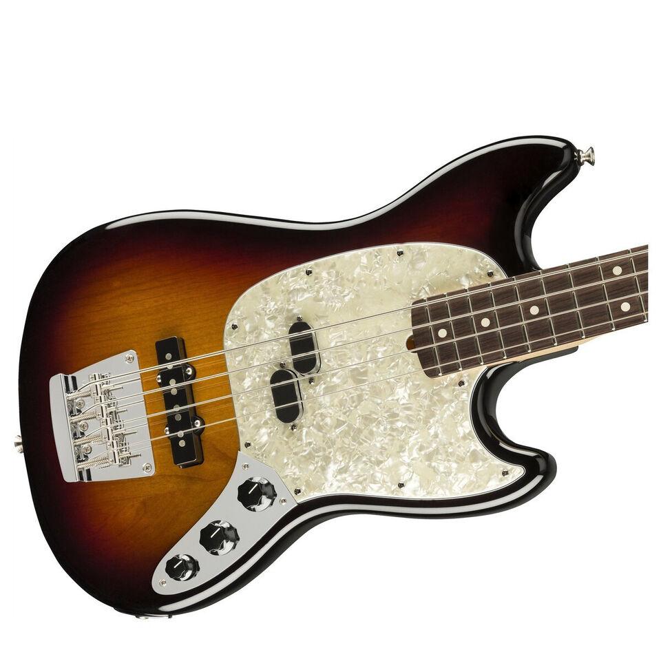 Fender AM Performer Mustang Bass 3TSB RW