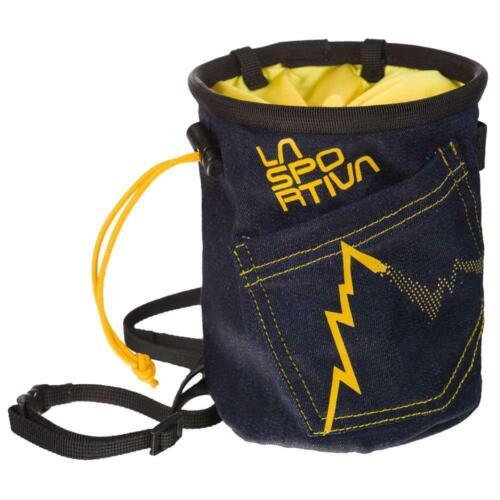 60/% OFF RETAIL La Sportiva Jeans Chalk Bag Full Fist climbing bouldering
