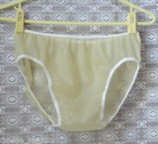 ".3mm Men's Latex Rubber Transparent Sissy Bikini Waterproof Underwear 34""-40"""