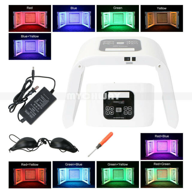 10Color LED Light Photodynamic Skin Care Rejuvenation Photon Facial Body Therapy
