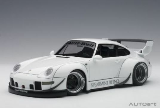 Porsche 911 993 Rwb 1996 bianca AUTOART 1 18 AA78150
