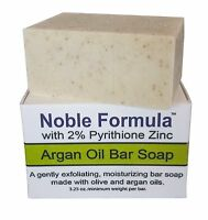 Noble Formula 2% Pyrithione Zinc (znp) Bar Soap W/ Argan Oil 3.25 Oz For Eczema