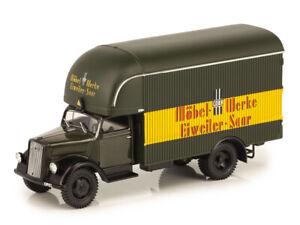 Opel-Blitz-Truck-Mobel-Werke-Eiweiler-Saar-Furniture-Delivery-Van-Germany-1949