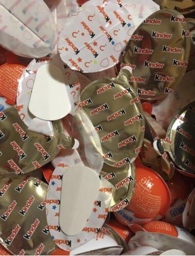 Schokoladen Hälften kein Spielzeug MHD 21.08.2021 30x Kinder Joy nur d