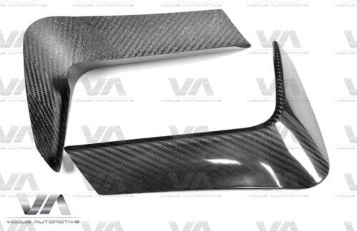 BMW F80 F82 F83 M3 M4 REAR BUMPER CARBON FIBER CORNER COVERS SPLITTERS