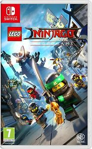 Lego Ninjago Movie Game Videogame For Nintendo Switch Brand New