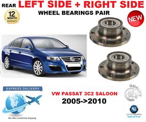 For VW PASSAT REAR WHEEL BEARINGS PAIR 2005  -   2010 3c 2 Saloon Left & Right  60% off