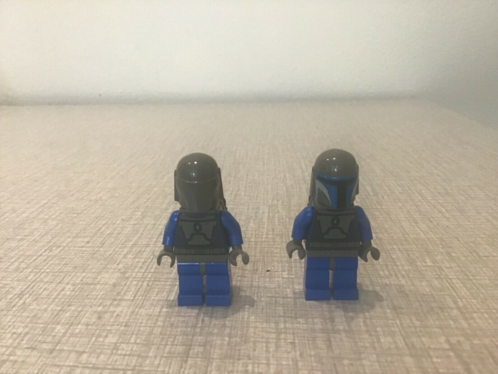 Lego Boba Fett figure with prototype misprint helmet without Farbes