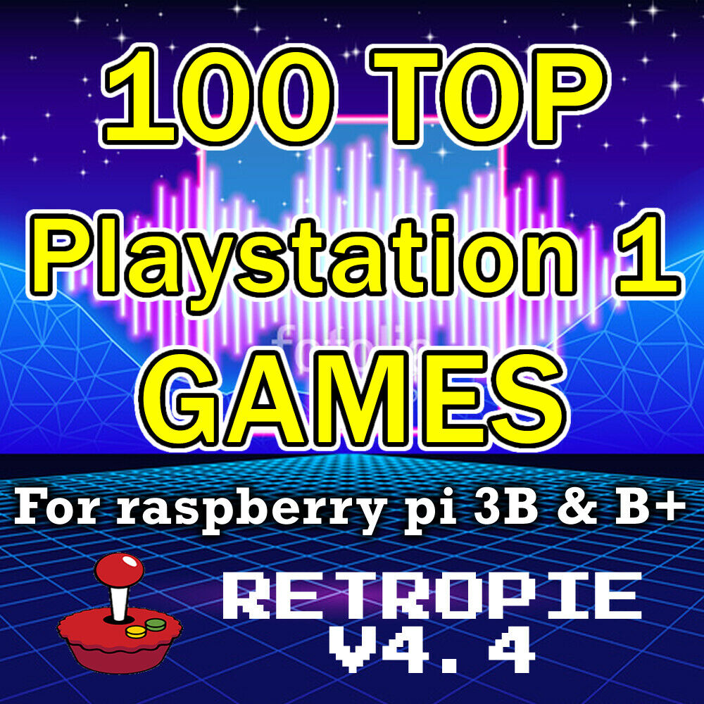 PlayStation 1 RetroPie SD card 100 Actually good PS1 games