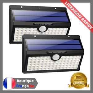 Lampe-Solaire-Exterieur-x2-Economie-Energie-Detecteur-Mouvement-Eclairage-Spot