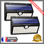 Lampe-Solaire-Exterieur-x2-Economie-Energie-Detecteur-Mouvement-Eclairage-Spot miniature 1