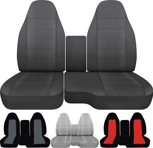 Groovy Details About Fits 04 12 Ford Ranger Car Truck Seat Covers Front 60 40 With Center Console Uwap Interior Chair Design Uwaporg