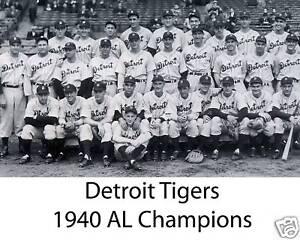 1940-Detroit-Tigers-AL-Champions-8x10-B-amp-W-Photo