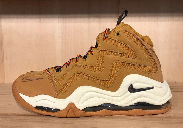 2018 Nike Air Pippen SZ Brown 10 Desert Ochre Velvet Brown SZ 325001-700 d0a3b9