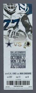 2014-NFL-WASHINGTON-REDSKINS-DALLAS-COWBOYS-FULL-UNUSED-FOOTBALL-TICKET